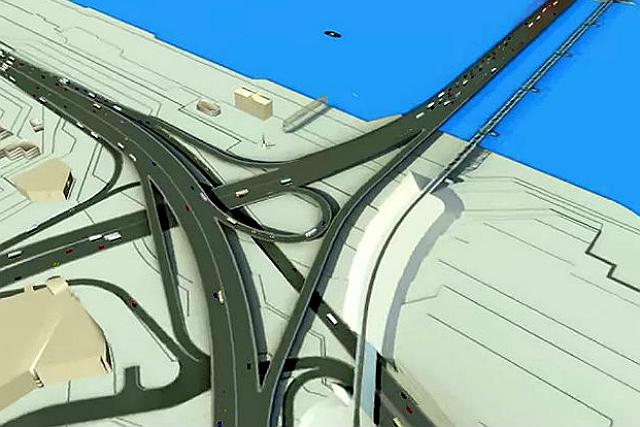 Властям придется побороться за федеральные деньги которые в виде гранта может получить проект четвертого моста через Обь в Новосибирске