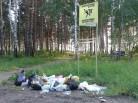 Незаконную свалку уберут с земель лесного фонда